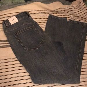 NWT WHBM Petite High Rise Ankle Skinny Jeans